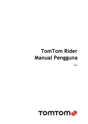 TomTom Rider 400 / 40 - PDF mode d'emploi - Malay