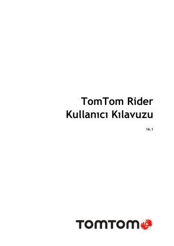 TomTom Rider 400 / 40 - PDF mode d'emploi - Türkçe