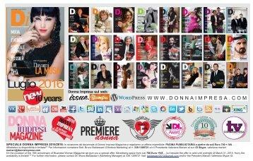 DONNA IMPRESA magazine 2016