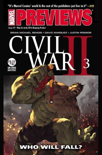 CIVIL WAR II #3 (OF 7)