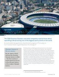 Avoiding FIFA's Footsteps
