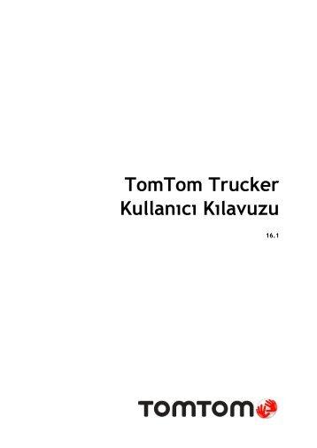 TomTom Trucker 6000 - PDF mode d'emploi - Türkçe