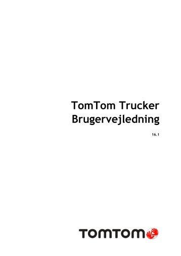 TomTom Trucker 6000 - PDF mode d'emploi - Dansk