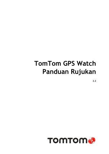 TomTom Guide de référence Spark / Runner 2 - PDF mode d'emploi - Malay