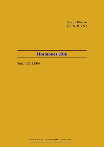 Hormones 2016