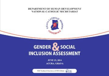 Gender and Social Inclusion Assessement