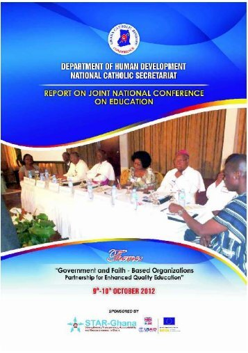 A Report on Joint National Conference on Education