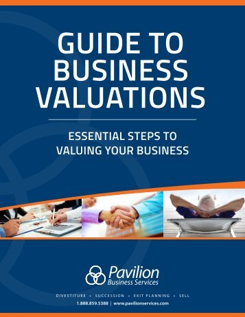 Guide To Business Valuations