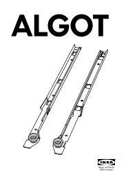 Algot Soluzioni Contenitivepdf Ikea