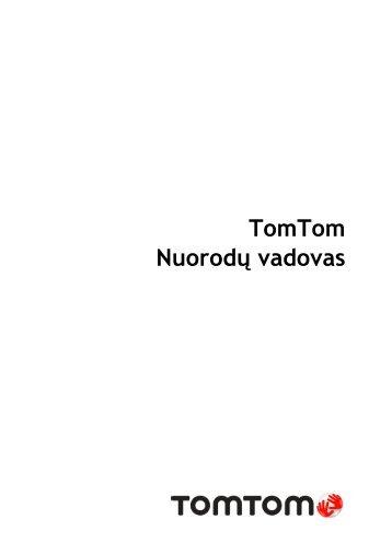 TomTom Start 60 - PDF mode d'emploi - Lietuviškai