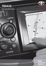 Toyota TNS410 - PZ420-E0333-IT - TNS410 - mode d'emploi