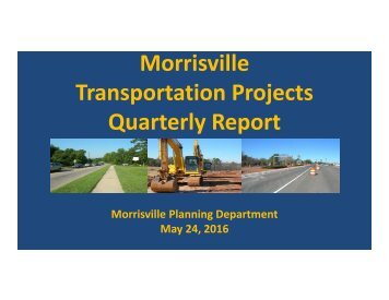 Transportation Projects Quarterly Report
