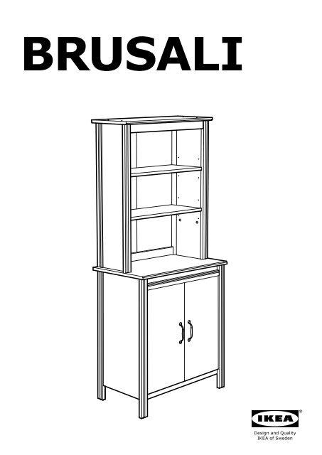 Alto Istruzioni Brusali Mobile Montaggio Ikea Anta Con