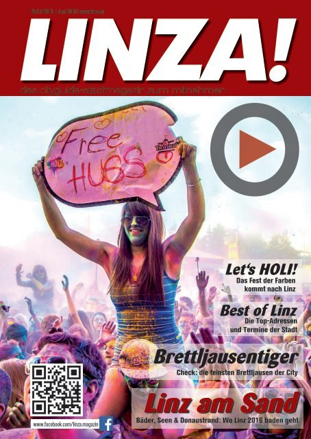 LINZA stadtmagazin Ausgabe#1–  Juni/Juli 2016