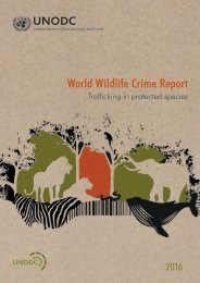 World Wildlife Crime Report