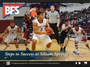 Steps to Success at Siloam Springs