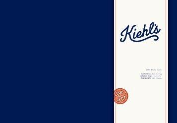 Kiehl's Brand Book