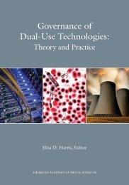 Governance of Dual-Use Technologies