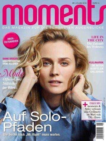 moments Magazin - Das Magazin für die schönsten Augenblicke