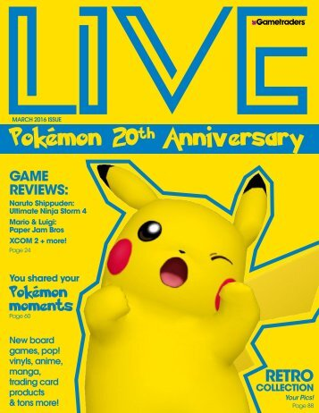 Live Magazine - March Issue