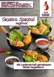 Gastro Spezial Juni 2016