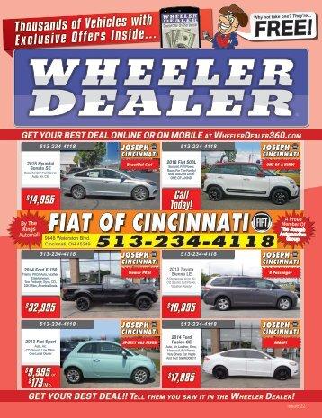 Wheeler Dealer Issue 22, 2016