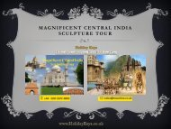 Magnificent Central India Sculpture Tour - HolidayKeys.co.uk