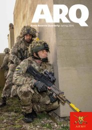 Army Reserve Quarterly Spring 2016