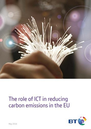 The role of ICT in reducing carbon emissions in the EU