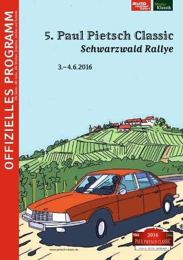 Paul Pietsch Classic - Schwarzwaldrally
