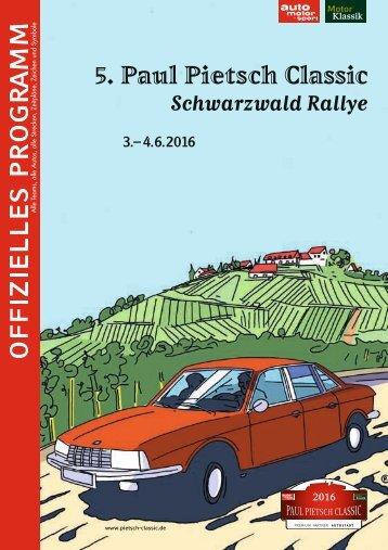 Paul Pietsch Classic - Schwarzwaldrally