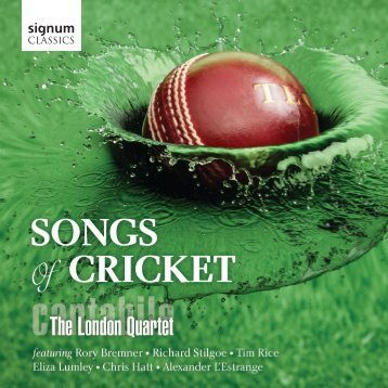 Songs of Cricket - Signum Records