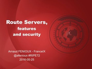 Route Servers