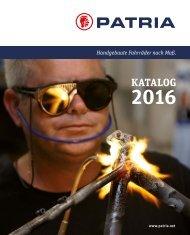 Patria Katalog 2016
