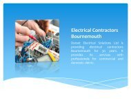 Electrical Contractors Bournemouth