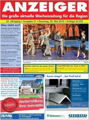 Anzeiger Ausgabe 21/16