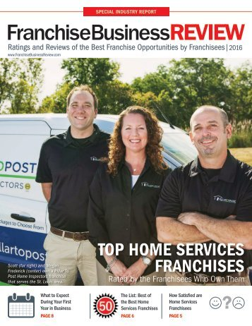 Top Home Services Franchises 2016