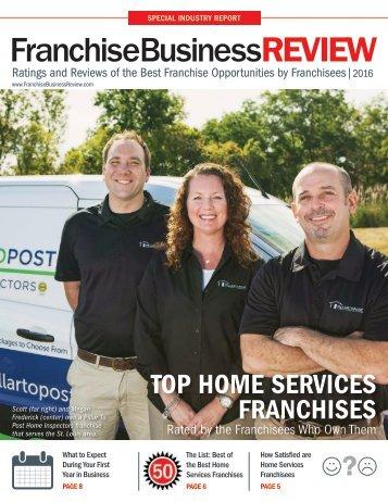 Top Home Services Franchises 2016