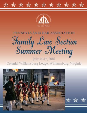 Family Law Section Summer Meeting