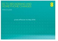 EE TV BROADBAND AND HOME PHONE CHARGES