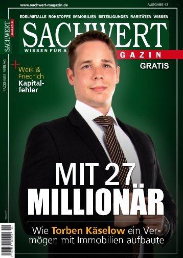 Sachwert Magazin ePaper, Nr 43