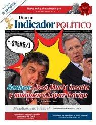 Oaxaca José Murat insulta y amenaza a López-Dóriga
