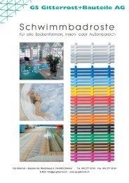 GS Gitterrost + Bauteile AG, Riedstrasse 8, CH-8953 Dietikon Tel ...