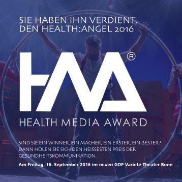 SIE HABEN IHN VERDIENT DEN HEALTH:ANGEL 2016