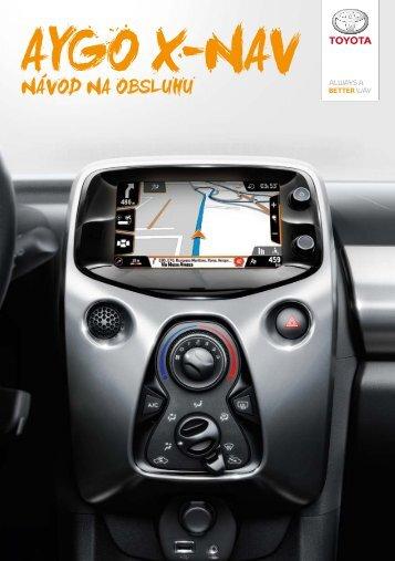 Toyota AYGO X - PZ49X-90334-SK - AYGO X-NAV (Slovak) - mode d'emploi