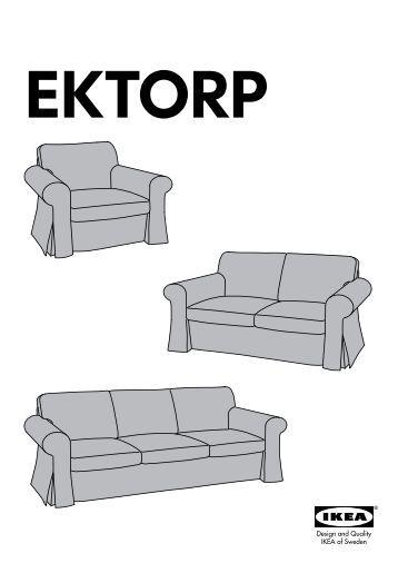 Serie di divani in tessuto ikea for Ikea divano ektorp 3 posti