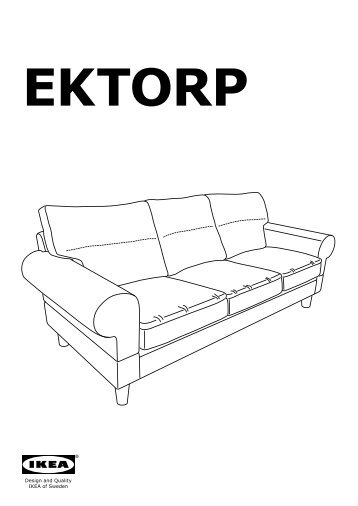 Che cosa copre la garanzi - Ektorp divano letto istruzioni ...