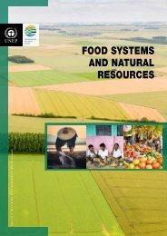 FOOD SYSTEMS AND NATURAL RESOURCES