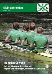 Klubnachrichten Ausgabe 2011-1 - Ruder-Klub