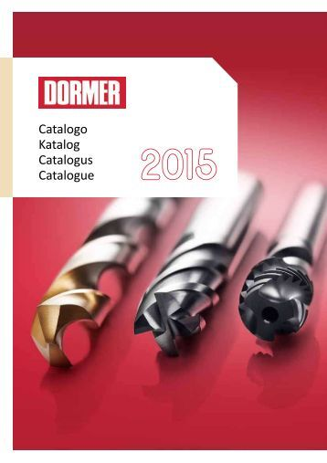Dormer catalogue2015_v3_it